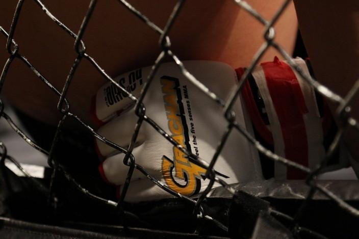 เข็มขัดแชมป์บนสังเวียนมวย MMA ที่ได้มาเพราะความมานะและอดทน